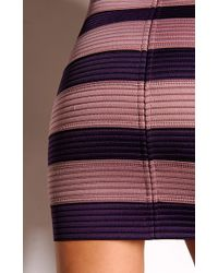 Pleasure Doing Business Two Tone 8 Band Skirt - Lyst