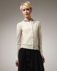 Rachel Roy - Jewel-neck Cardigan - Lyst
