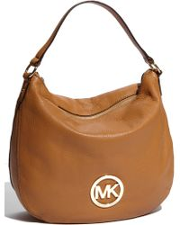 MICHAEL Michael Kors Fulton Logo - Large Shoulder Bag - Lyst