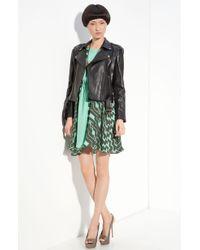 Kelly Wearstler Rio Crop Leather Moto Jacket - Lyst
