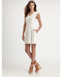 Theory Narida Linen Dress - Lyst