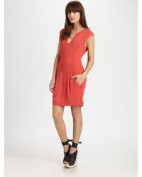 Theory Adalize Dress - Lyst