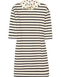 Sonia by Sonia Rykiel Striped Cotton Dress - Lyst