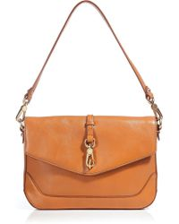 Marc By Marc Jacobs Voyage Ochre Leather Shoulder Bag - Lyst