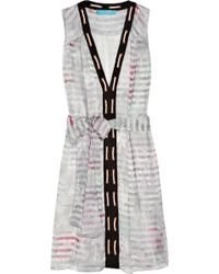 Matthew Williamson Shell-Print Silk-Chiffon Dress - Lyst