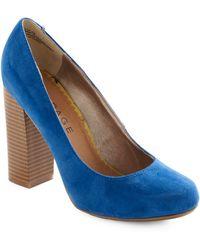 ModCloth Hello, Blue-Tiful Heel blue - Lyst