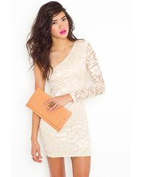 Nasty Gal Emmy Lace Dress - Lyst