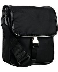 Prada Black Nylon Small Travel Bag - Lyst