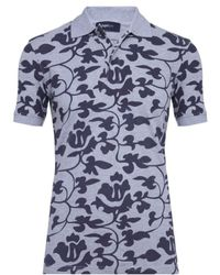 Zegna Sport - Thermochromatic Floral Polo Shirt - Lyst