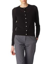 Paul Smith Black Label Swirl Back Cardigan - Lyst