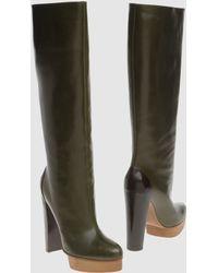 Marni High-heeled Boots - Lyst