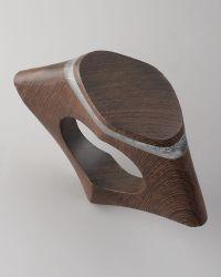 Donna Karan - Sculpted Wood Bangle - Lyst