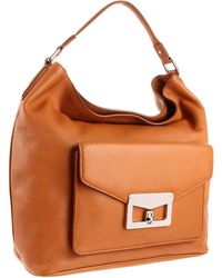 Marc By Marc Jacobs  D5 Bianca Front Pocket Hobo - Lyst