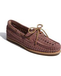 Frye Quincy Boat Shoe - Lyst