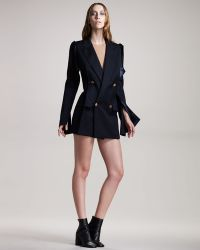 Maison Margiela Peak-lapel Jacket Dress - Lyst