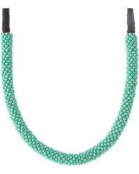 ASOS - Asos Seedbead Wrapped Collar - Lyst