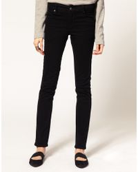 Cheap Monday Tight Mid Waist Skinny Jeans - Lyst