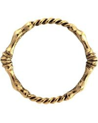 Low Luv by Erin Wasson - Rope Twist And Horse Hoof Bangle - Lyst