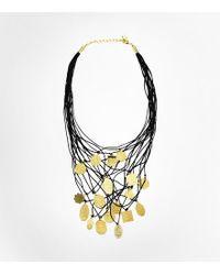Tory Burch Foundation World Charm Necklace - Lyst