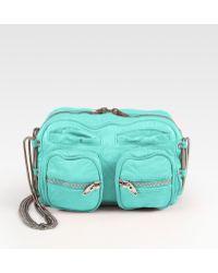 Alexander Wang Brenda Leather Shoulder Bag - Lyst