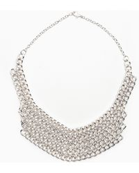 Nasty Gal Chainmail Necklace - Lyst