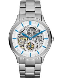 Fossil Ansel Automatic Bracelet Watch - Lyst