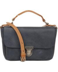 Ally Capellino - Charcoal Lorraine Conservative Satchel - Lyst