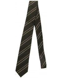 Dolce & Gabbana Silk Jacquard Tie gray - Lyst