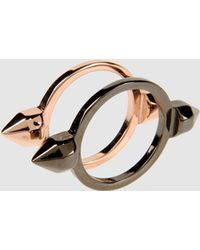 Maria Francesca Pepe Ring gold - Lyst