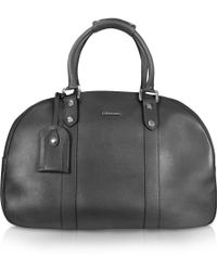 Moreschi New Boston Leather Travel Bag - Lyst