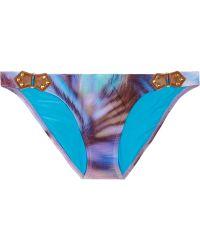 ViX Metis Printed Bikini Briefs - Lyst