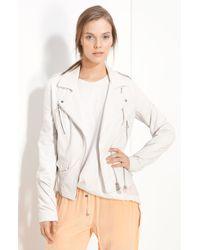 3.1 Phillip Lim Leather Moto Jacket - Lyst