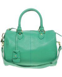 ASOS - Asos Leather Bowler Bag - Lyst