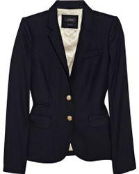 J.Crew Schoolboy Wool-blend Blazer blue - Lyst