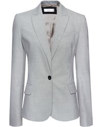 Mango Relaxed-fit Suit Blazer - Lyst