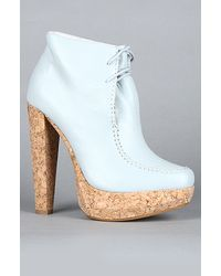 Plomo The Carina Shoe in Baby Blue - Lyst