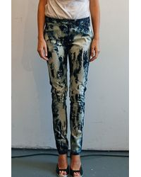Preen By Thornton Bregazzi Splatter Pants - Lyst