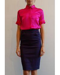 Preen By Thornton Bregazzi Pencil Skirt - Lyst