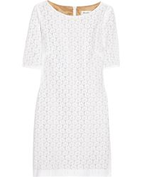 Helene Berman Lace Mini Dress - Lyst