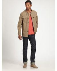 Rogan - Piston Selvedge Straight-leg Jeans - Lyst
