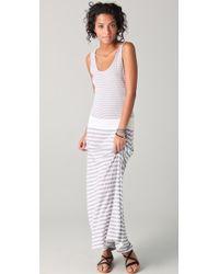 Three Dots Maxi Dress - Lyst