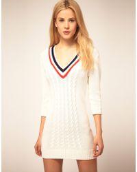 ASOS Collection Asos Cricket Jumper Dress - Lyst
