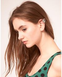 ASOS Collection | Asos Three Spike Ear Cuff | Lyst