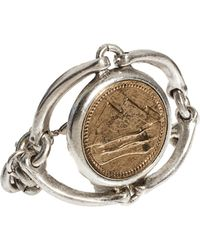 Low Luv by Erin Wasson - By Erin Wasson Horse Bit And Coin Bracelet - Lyst