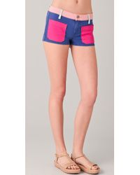 Textile Elizabeth and James - Robbie Shorts - Lyst