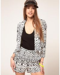 ASOS Collection Asos Aztec Print Jacket - Lyst