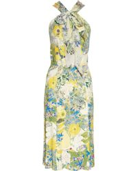 Erdem Romily Printed Stretch-jersey Dress - Lyst