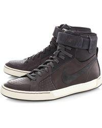 Nike Flytop Air Leather Hi Top Sneakers - Lyst