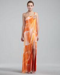 Hoaglund New York One-shoulder Caftan Gown - Lyst