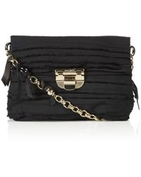 Nina Ricci Liane Embroidered Pouch Bag - Lyst